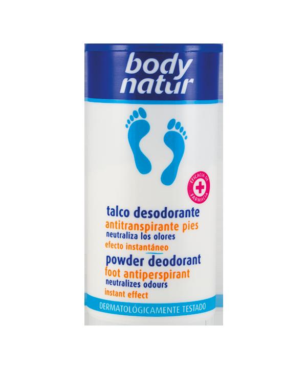 Talco Desodorante